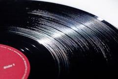 Long enregistrement de vinyle de jeu image libre de droits
