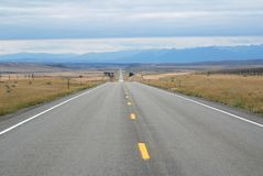 Road in Montana , USA Royalty Free Stock Photography