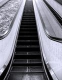 Long Escalator Royalty Free Stock Photography