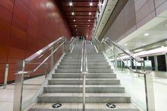 Long escalier photographie stock