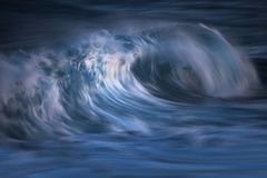 Long exposed photo of wave Royalty Free Stock Images