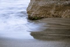 Long exposed water Royalty Free Stock Images