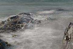 Long Exposure. Artistic photo of sea, long exposure Royalty Free Stock Photography