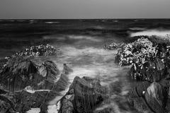Long Exposure. Artistic photo of sea, long exposure Stock Photo
