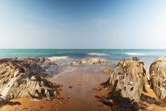 Long Exposure. Artistic photo of sea, long exposure Royalty Free Stock Image