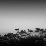 Long exposure bay Stock Images