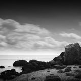 Long exposure bay Royalty Free Stock Images
