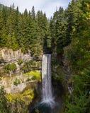 Long exposure of Brandywine falls in Whistler, British Columbia Stock Photo