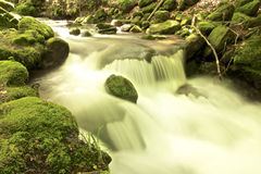 Long exposure brook Stock Photography