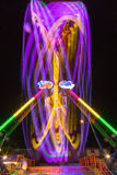 Long exposure carnaval ride Royalty Free Stock Photography