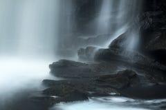 Long exposure of Chapman Falls, Devil's Hopyard Park, Connecticu Stock Images