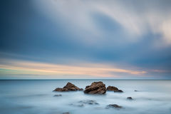 Long Exposure at Chemical Beach Royalty Free Stock Photography