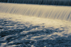 Long Exposure Dam Royalty Free Stock Image