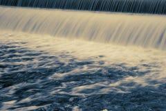 Long Exposure Dam Royalty Free Stock Image