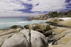 Bay of Fires beach in Tasmania Stock Image