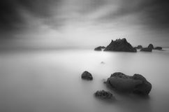 Long Exposure at El Matador Royalty Free Stock Photo