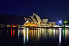 Long exposure fo SYDNEY AUSTRALIA - August 22, 2015 : View of su Royalty Free Stock Photos