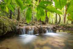 The long exposure image of a beautiful river Royalty Free Stock Photography