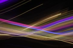 Long exposure lights texture macro. Long exposure lights texture micro royalty free stock photos
