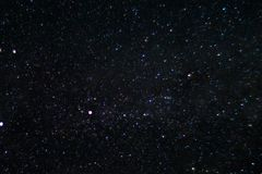 Long exposure night photo. A lot of stars with constellations. Far from the city. Night wonderful landscape stock photos
