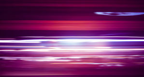 Long exposure night traffic. Blurred Abstract image of Long exposure night traffic light in the city Royalty Free Stock Image