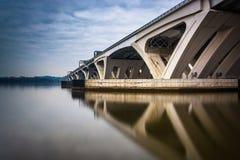 Free Long Exposure Of The Woodrow Wilson Bridge, In Alexandria, Virginia. Stock Photos - 47444423