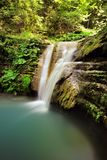Long exposure photos of Tatlica Waterfall in Erfelek, Sinop in Turkey stock photo