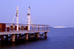 Long exposure pier Royalty Free Stock Photo
