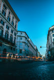 Long exposure in Rome Royalty Free Stock Photography