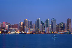 San Diego Skyline Stock Photography