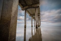 Reflection at Scripps Royalty Free Stock Image