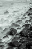 Long exposure sea cost with tonality, Hokkaido, Japan Royalty Free Stock Image