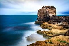 Long Exposure Seascape. Beautiful Long Exposure Seascape in Isle of Portland, UK Royalty Free Stock Images