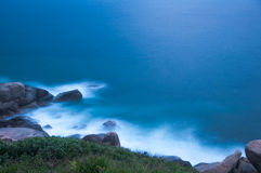 Long Exposure Seascape at Dawn Stock Images