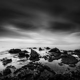 Long exposure Seascape with Rocks
