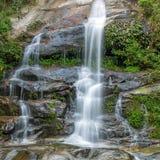 Long exposure shot of a beautiful waterfall Stock Images