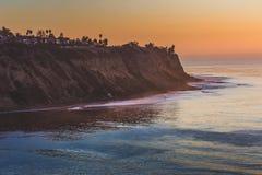 Palos Verdes Coast After Sunset stock photography