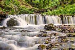Long Exposure Small Waterfall Stock Image