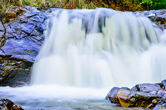 Long Exposure Small Waterfall Royalty Free Stock Image