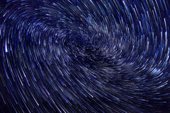 Long Exposure Star Trail Vortex Image royalty free stock photo