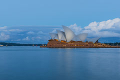 Long exposure Sydney Opera House. Sep,15,2016 NSW Australia. The Sydney Opera House is a famous arts center. Over 10 millions tourist visit Sydney a year Royalty Free Stock Photography