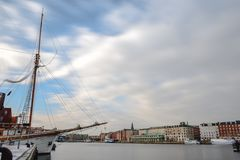 Set a sail for a new destination . copenhagen stock images