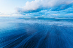 Long exposure to sea Stock Images