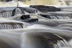Furnace Falls In Autumn stock images