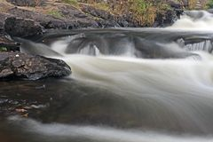 Furnace Falls In Autumn royalty free stock images