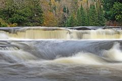 Furnace Falls In Autumn royalty free stock photos