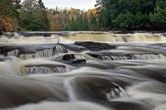 Furnace Falls In Autumn royalty free stock photo