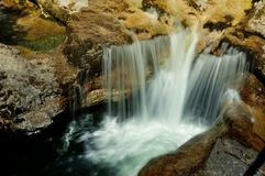 Waterfalls in Ötscher Canyon in Lower Austria, Alps stock photo