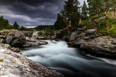 Long Exposure. Waterflow and long Expose Stock Image