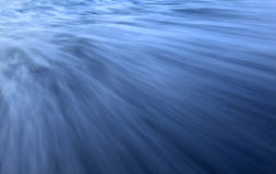 Long exposure waves Stock Images